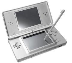 Spielkonsole DS Lite silber