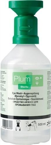 Augenspülung Plum Augenspülflasche 3 x 500 ml im Karton handliche Flaschen, auch für den mobilen Einsatz geeignet