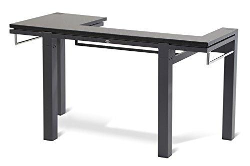 HARTMAN stilvoller Master Chef Grilltisch, hochwertiges pulverbeschichtetes Aluminiumgestell in xerix, Granit-Arbeitsplatte, 160 x 70 x 88 cm, Gartentisch, BBQ Tisch, wetterfest, einfach erweiterbar