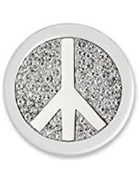 Moneda Peace White Diamond Discs Mi Moneda