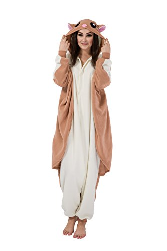 Fliegende Ratten Schlafanzug Kostüm Erwachsene Anime Unisex Kigurumi Pyjamas Kostüme Karneval Cosplay Jumpsuit (Kostüme Unisex)
