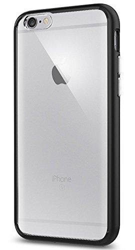 Spigen SGP11600 - Funda para iPhone 6 / 6S, Claro/Negro