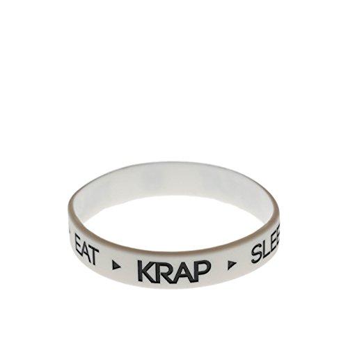 Armbänd Daily Krap Weiß Klein
