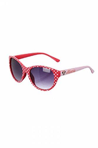 Disney - occhiali da sole minnie mouse - taille unique, rouge