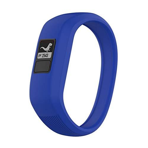 Kimi Like Kompatibel für Garmin Vivofit JR/JR 2 / Vivofit 3 Armband, Atmungsaktives Ersatzband Silikonarmband für Garmin Vivofit JR/JR 2 / Vivofit 3 Uhrenarmband