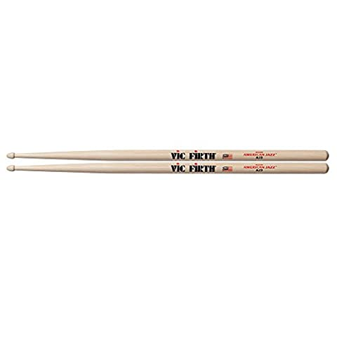Vic Firth VFAJ2 American Jazz 2 Wood Tip Drumsticks
