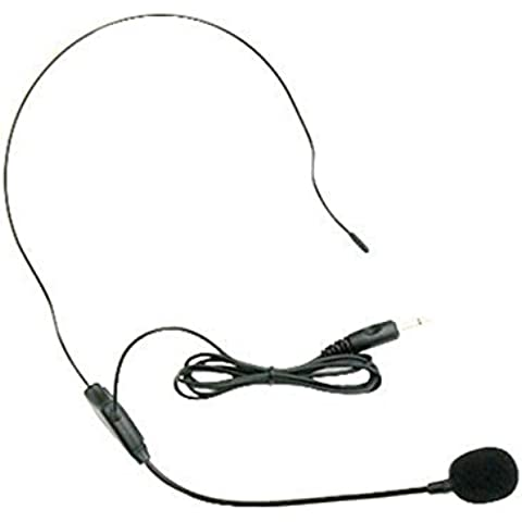 seesii Fermacravatta Clip per Aker amplificatore 3.5mm Jack spina microfono basso peso vocale con un regalo,