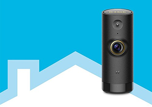 D-Link DCS-P6000LH Mini HD Wi-Fi Camera Works with Alexa (Black)
