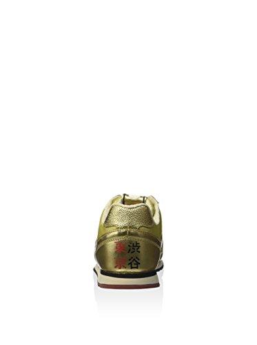 Lotto Leggenda, Donna, Tokyo Shibuya Gold Star White Antique, Pelle, Sneakers, Giallo, 36 EU Gold