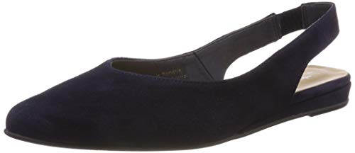 Tamaris Damen 1-1-29406-22 Slingback Pumps, Blau (Navy 805), 37 EU Sling Pumps Schuhe