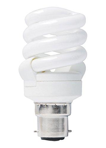 BRIGHT Full Spectrum Natürliche kalt Tageslicht 6500K 11Watt Energiesparlampe (A = 55W 60W) mit Sockel bis baî ¯ onnette Seine B22Good-Sad (Trouble saisonale Betroffenen)