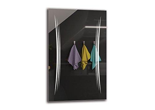 Espejo LED Premium   Dimensiones Espejo 50x80 cm