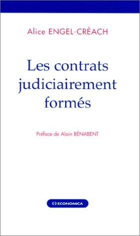 Les Contrats judiciairement formés