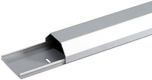 dream audio Kabelkanal modern: Hochwertiger Design-Kabelkanal aus eloxiertem Aluminium, 75 cm (Deko Kabelkanal) -
