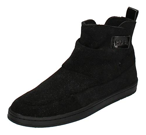 Hub Footwear Damen - Booties Serve S37 Glitter - Black, Größe:39 EU
