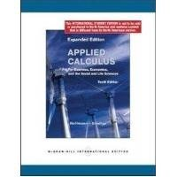 Applied Calculus for Business, Economics and the Social and Life Sciences, Expanded Edition