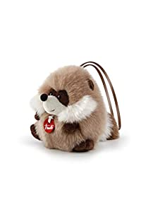Trudi- Peluche Mini hangable, Color Beige (29093)