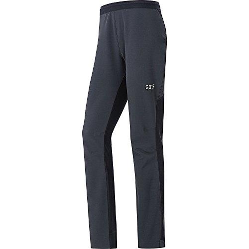 GORE Wear X7 Damen Langlauf-Hose GORE WINDSTOPPER partial, L, Schwarz