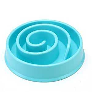 Buy Slow Feeder Bowl Healthy Diet Natural Funny Interactive Bloat Stop Dog Bowl Eco