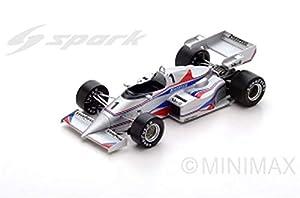 SPARK-Coche en Miniatura de colección, s1871, Color Blanco/Rojo/Azul