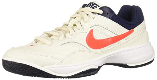 Nike Court Lite, Scarpe da Tennis Uomo, Multicolore (Phantom/Blue Void/Sail/Black 007) 45 EU