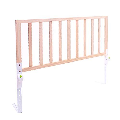 1,2 m Holz Kleinkind Bett Schiene für Queen-Size-Bett Twin XL Rosa Einstellbare Swing Down Geländer für Mädchen Kinder - Weiße Holz-twin-size-bett