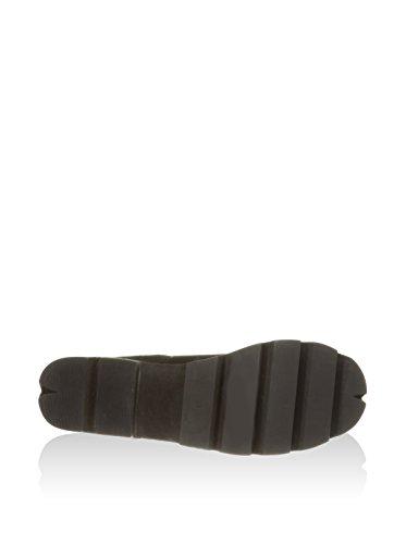 Jeffrey Campbell Nirvana Chuncky Platform Boots Noir - Noir