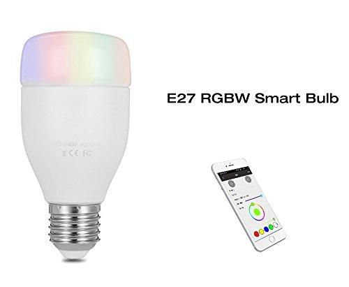 Intelligentes WiFi-Licht, E27 6 W WiFi Smart Leuchtmittel Smartphone Kontrollierte Party Lights mit Amazon Alexa Echo - Licht Ich Echo