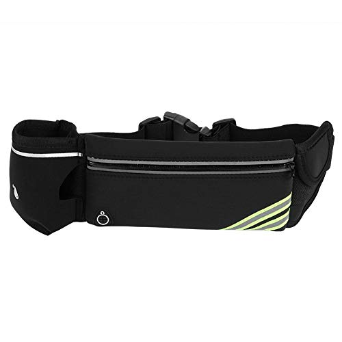 Yourig Sports Waist Bags Bottle Holder Reflective Adjustable Running Fanny Pack