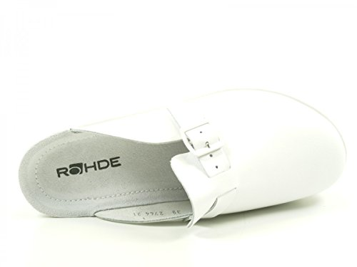 Rohde Neustadt 1447 00, Sabots Femme Weiß