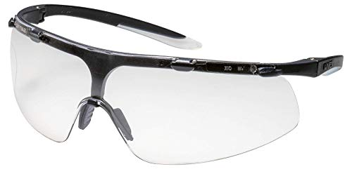 Uvex Super Fit Schutzbrille - Supravision Plus - Transparent/Schwarz