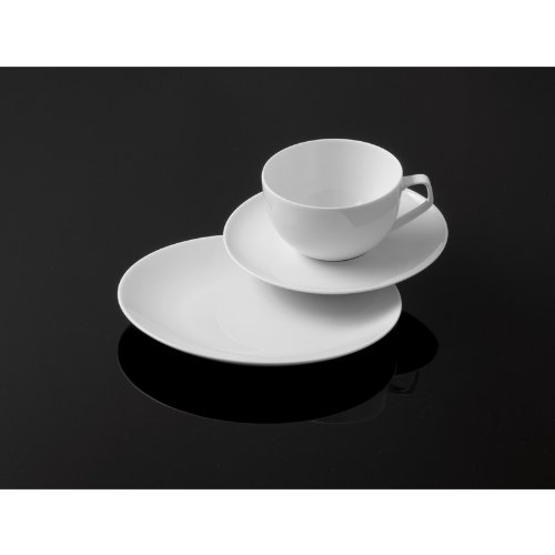 Rosenthal - TAC Gropius - Kaffeeset - Kaffeeservice - Porzellan - 18-tlg. - weiß