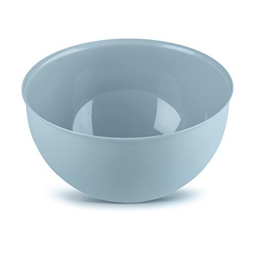 Koziol Palsby M, Coupelle, Bol, Saladier, Plastique, Powder Blue, 2 L, 3805639