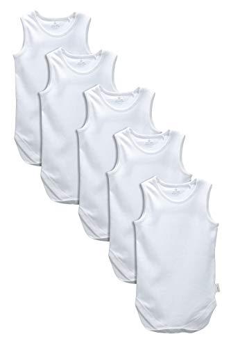 next Baby Jungen Unterhemden 5Er Pack (0Monate Bis 3Jahre) Weiß 2-3 Jahre