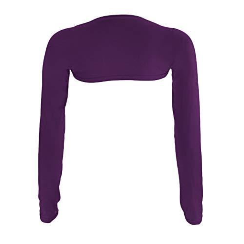 -Siamesische Manschette Muslim Mode Arm Ärmel Achselzucken Cover Shrug Muslim Tuch(Schwarz,) ()