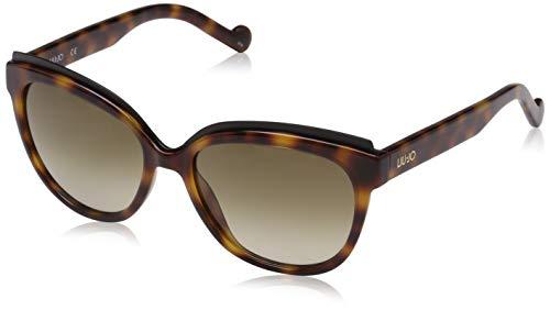 Liu Jo Damen LJ689S 218 56 Sonnenbrille, Blonde Tortoise,