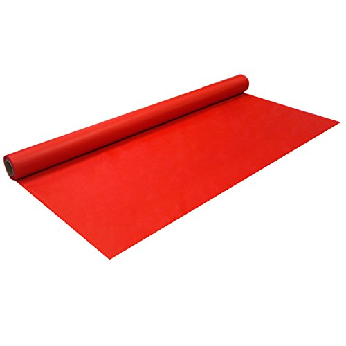 Party Essentials Schwerlast Bankett Rolle Kunststoff Tischdecke, 150' Length x 40