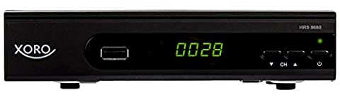 Xoro HRS 8660 digitaler Satelliten-Receiver mit LAN Anschluss (HDTV, DVB-S2, HDMI, SCART, PVR-Ready, USB 2.0)