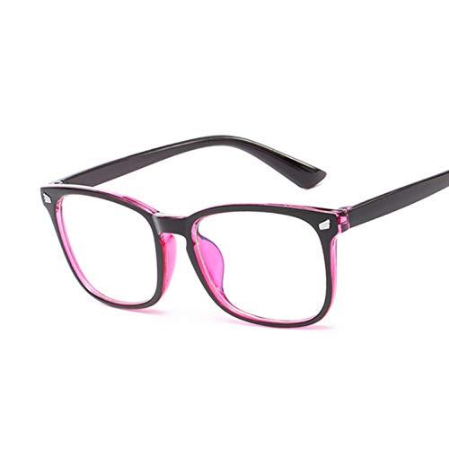 Kjwsbb Brillengestell Optische Brillengestell weiblich quadratischKlarglas Lady