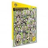 BVB Borussia Dortmund Comic Adventskalender 2014 /2015 mit Autogrammkarten und Schokolade