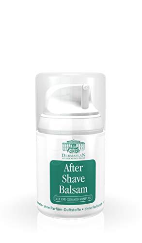 DERMAPLAN After Shave Balsam Sensitive | After Shave Lotion für Gesicht, Körper & Intimbereich | für Damen und Herren | 100{7b19529555e1c7cf728217910121164e09cf2e6a130f8094ae1b93df2845d5c7} Veganes Naturprodukt, 50 ml
