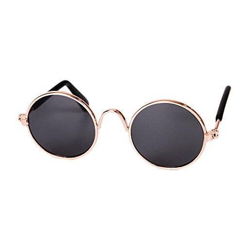 Homim Haustier Gläser Brille Hunde Katze Sonnenbrille Schwarz