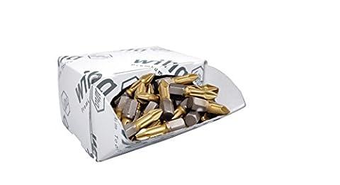 wiha bits gros paquet de cigarettes tin, 25 mm, 50-tlg.7929