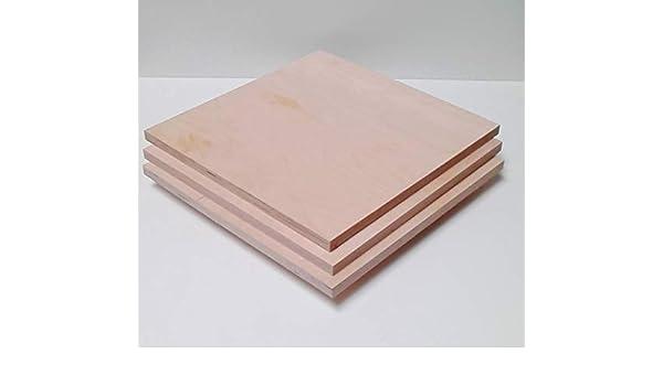 50x60 cm 3mm Sperrholz-Platten Zuschnitt L/änge bis 150cm Birke Multiplex-Platten Zuschnitte Auswahl