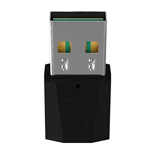 non-brand Baoblaze USB Bluetooth Empfänger Bluetooth 4.2 Audio Receiver 3,5mm Stereo Audio Adapter für HiFi-Anlagen, Kfz Autoradio