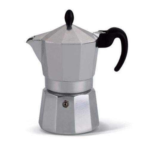 Lagostina . Caffettiera Moka Express caffè Espresso 3 Tazze Samba Alluminio Moka