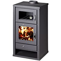 Estufa de leña chimenea de horno cocina de combustible sólido Log quemador de la madera para