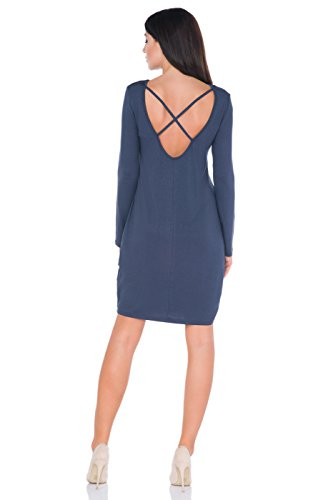 FUTURO FASHION - Robe - Cocktail - Femme Graphite