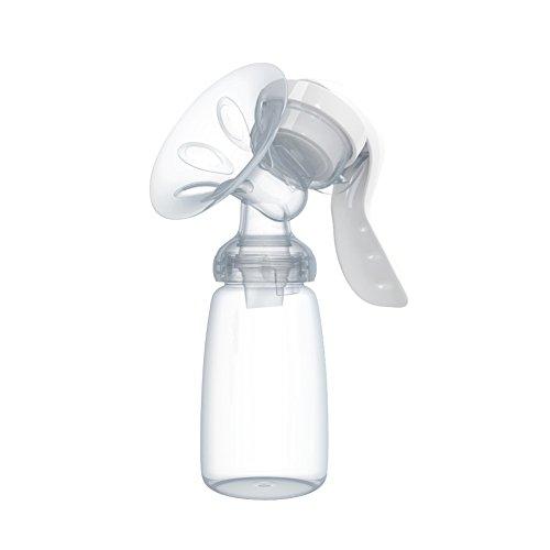 Smartrich 1Manuelle Brustpumpen–Leistungsstark Baby Nipple einatmen–Milch Flasche Füttern Milchpumpe Saugnapf (150ml)