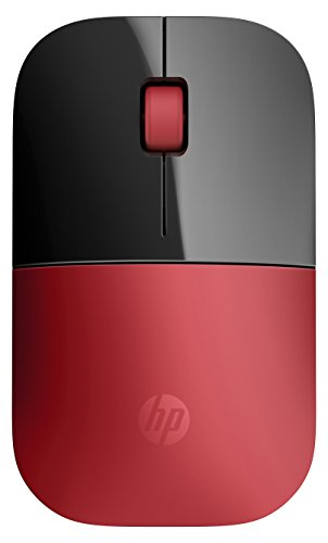 HP V0L82AA Z3700 Mouse Wireless, Rosso